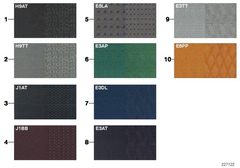 AV13 Sample Page, Upholstery Colors, Fabric-01_0973
