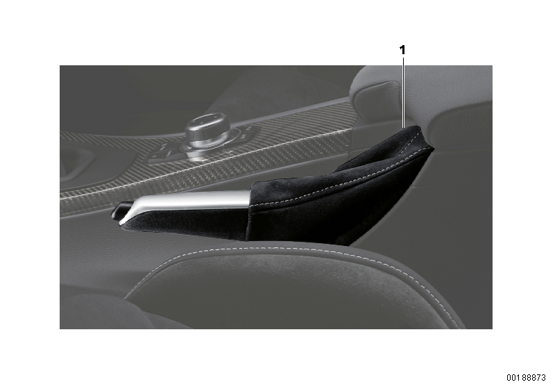 AM33 BMW Performance Parking Brake Handle-03_0123