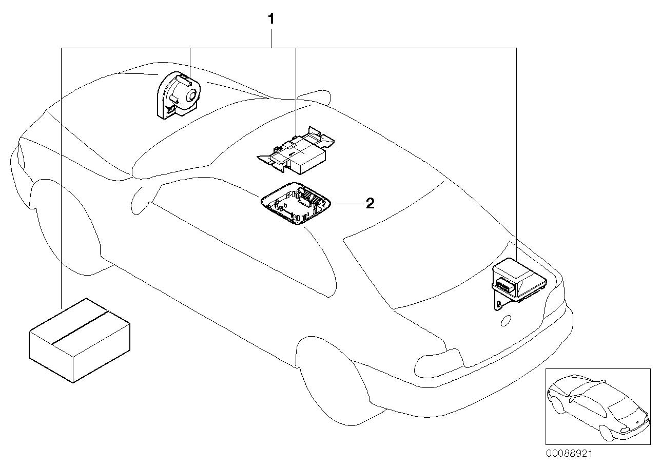 AM33 Installation kit alarm system 03_0974
