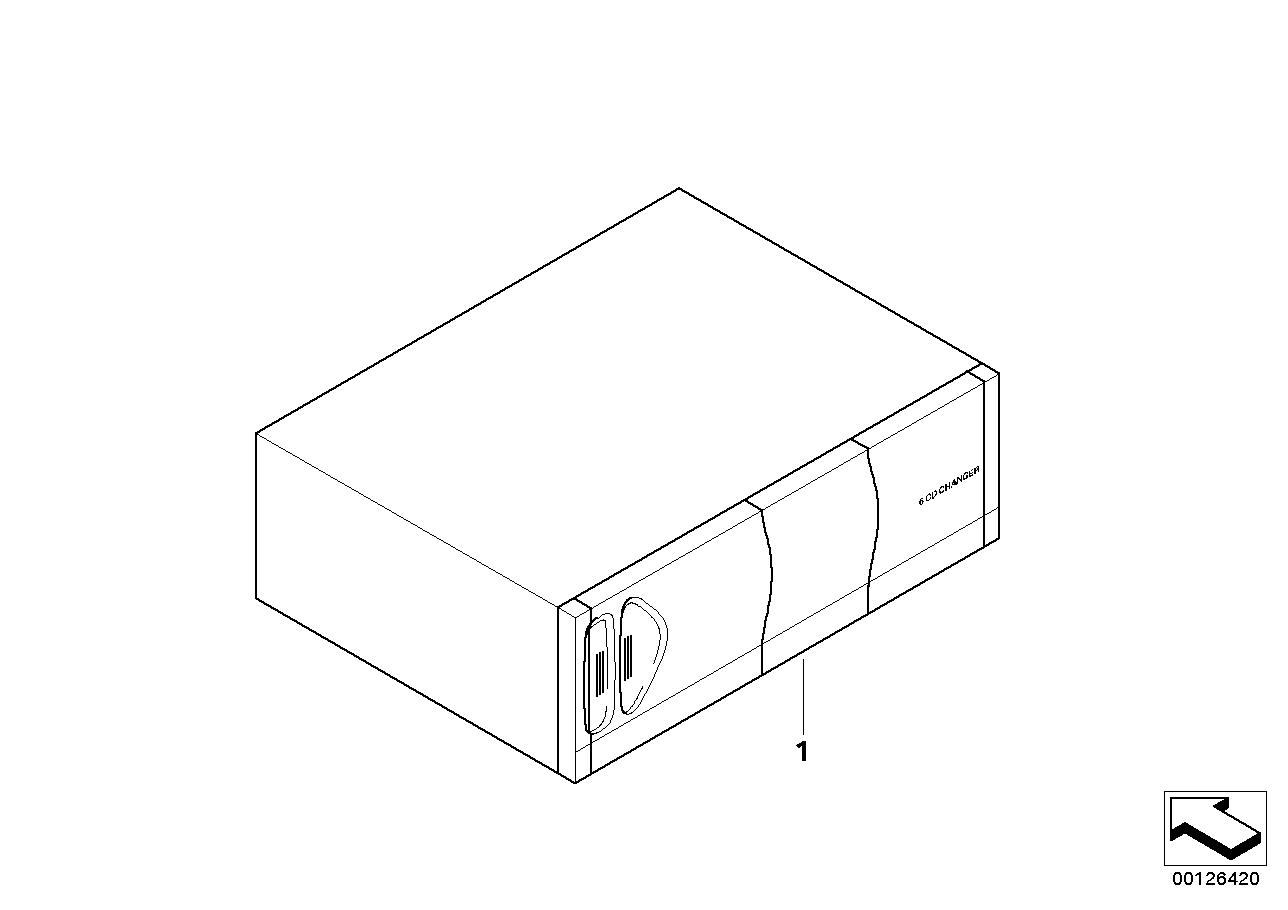 AM33 CD player/changer Alpine w/I-Bus 03_1246
