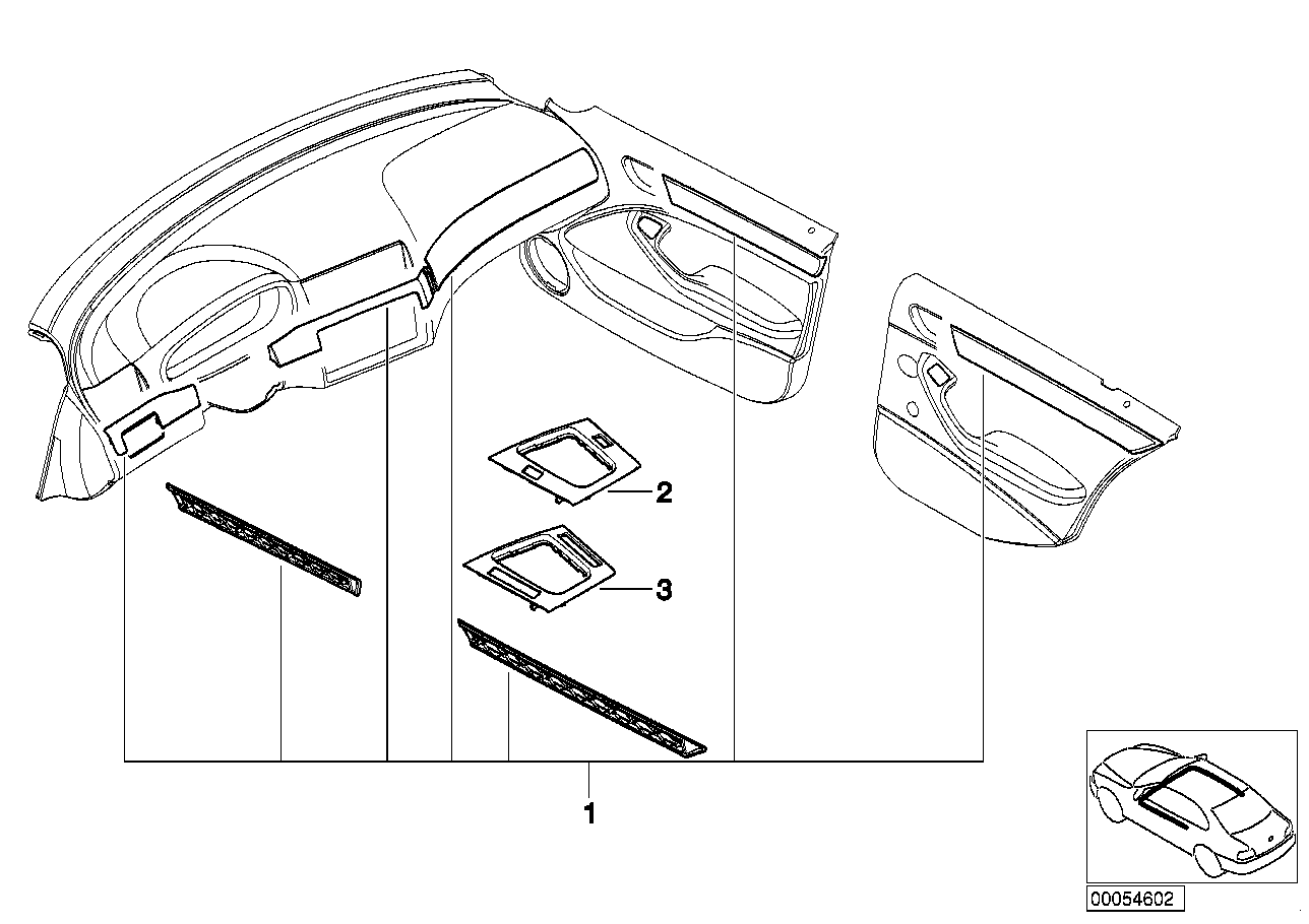 AM33 Retrof.,alumin. Decor Strips,cube Silver-03_1339