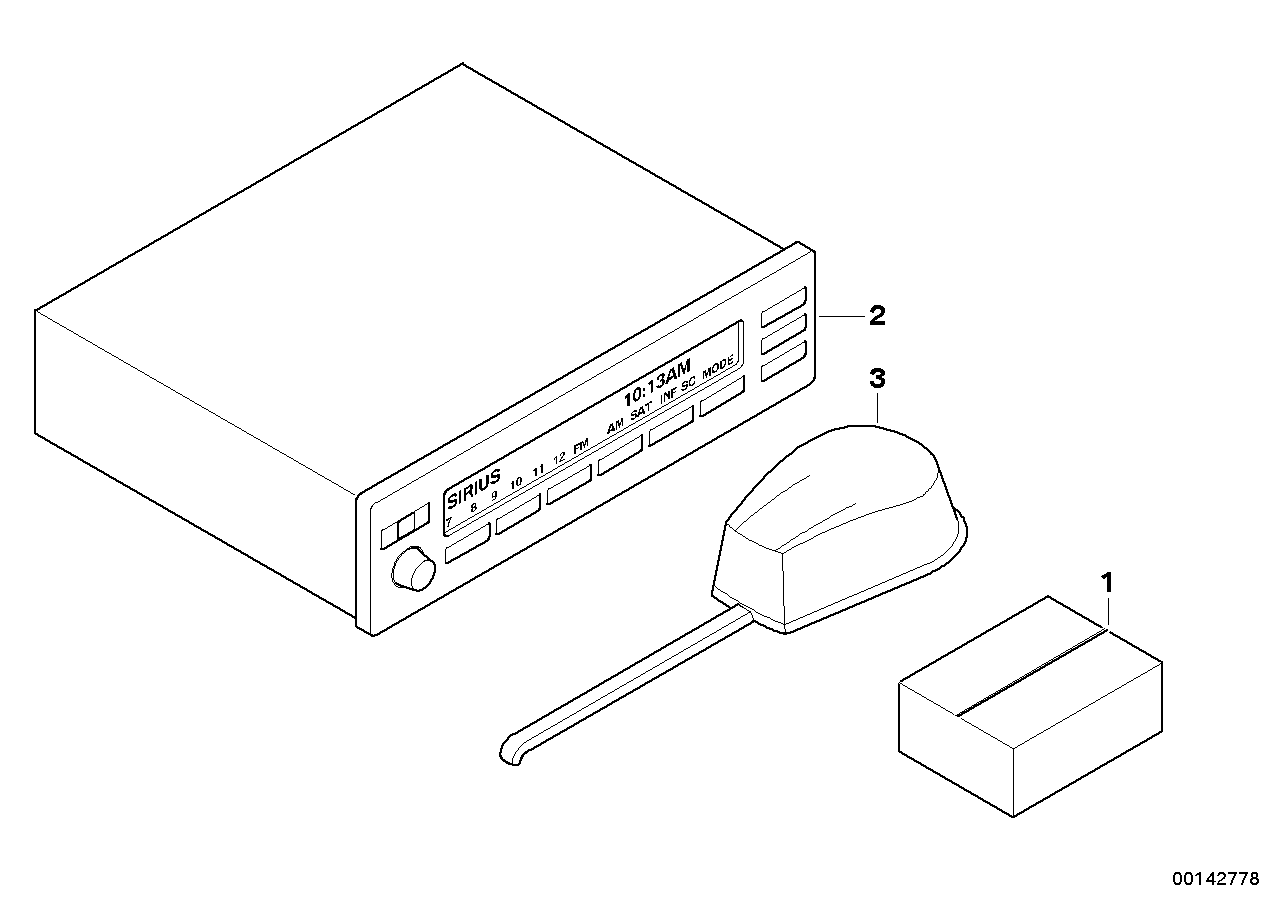 AM33 Radio installation kit 03_2116