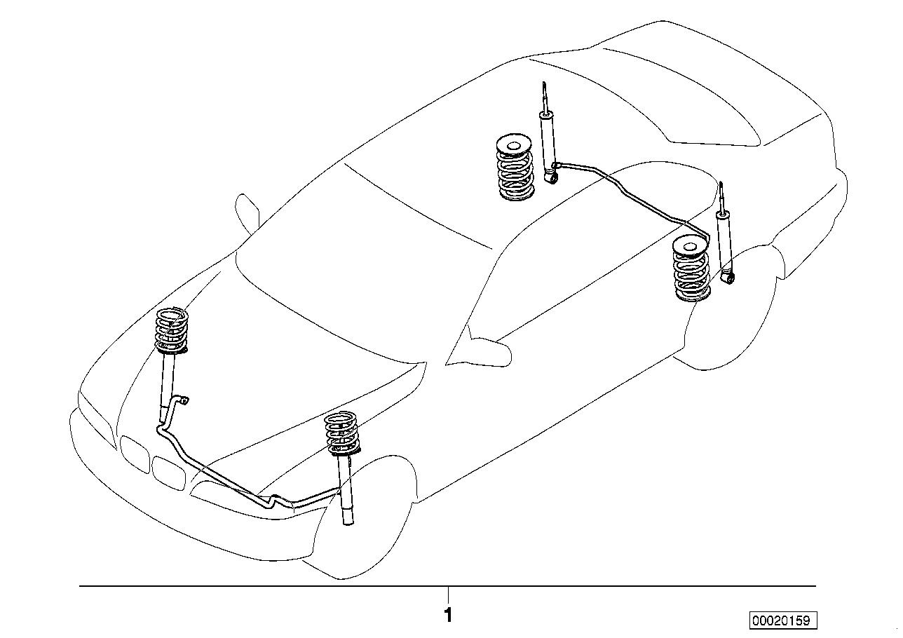 AM33 Retrofit kit, sports suspension 03_2123