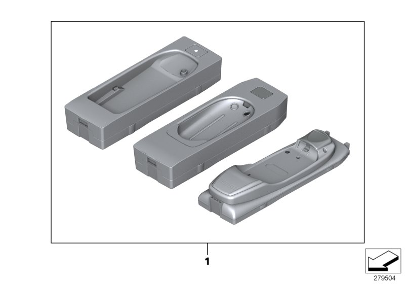 AM33 Snap-in adapter for SIEMENS devices 03_2752