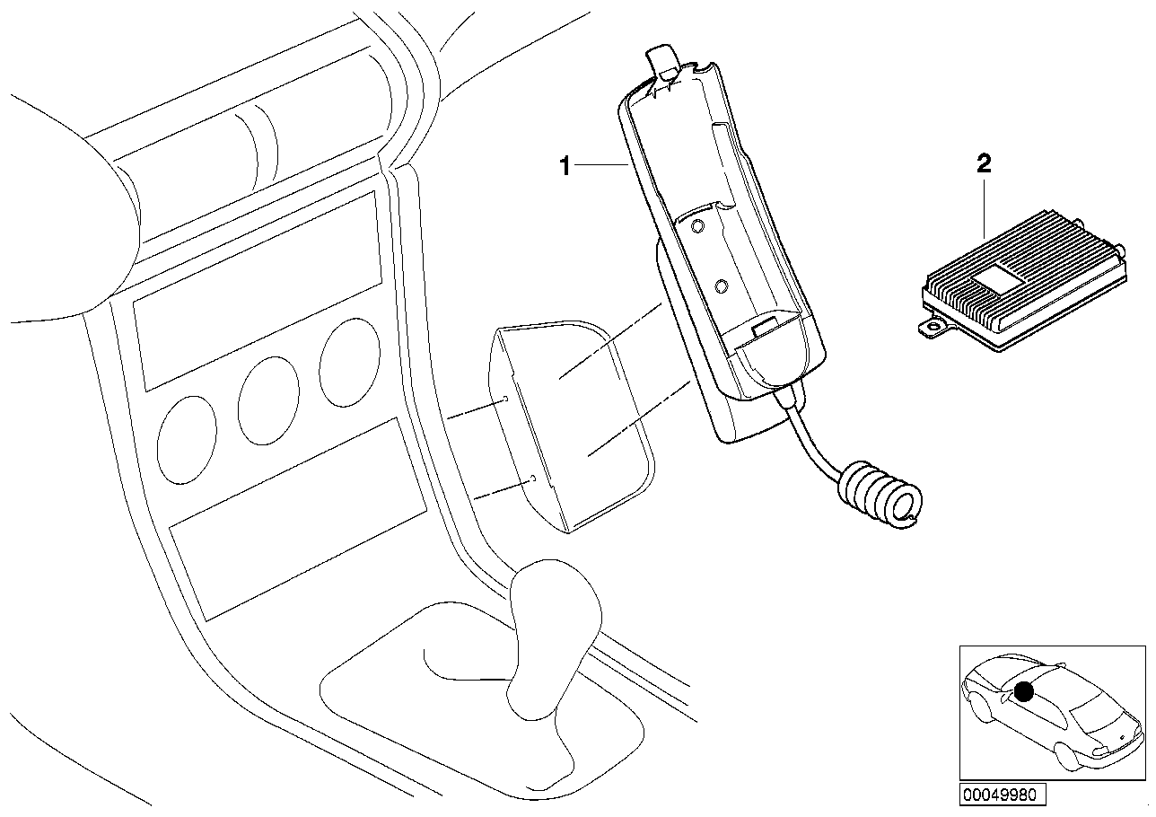 AM33 Retrofit kit,hands free facili.Siemens25 03_2801