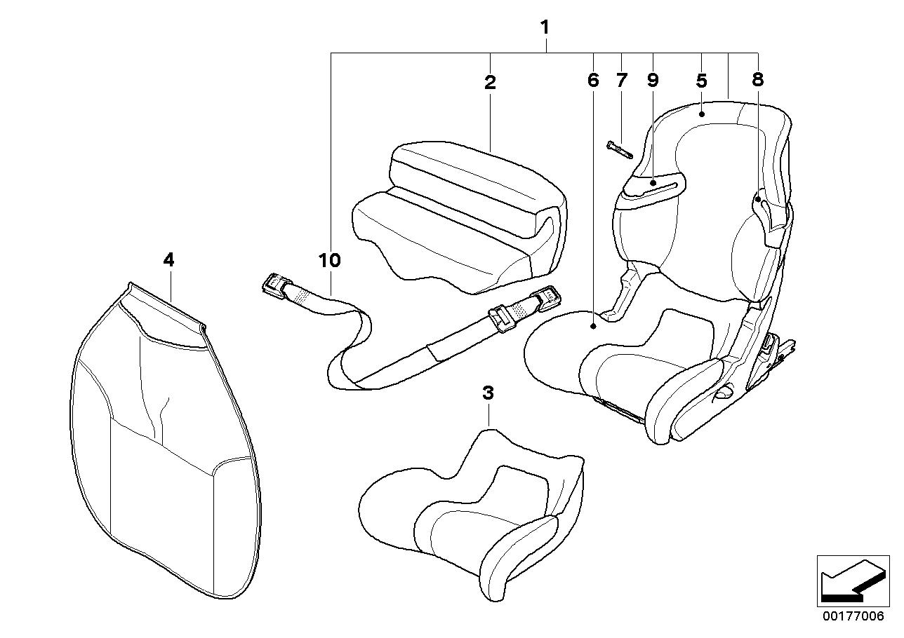 AM33 BMW Junior Seat I-II Isofix-03_3048