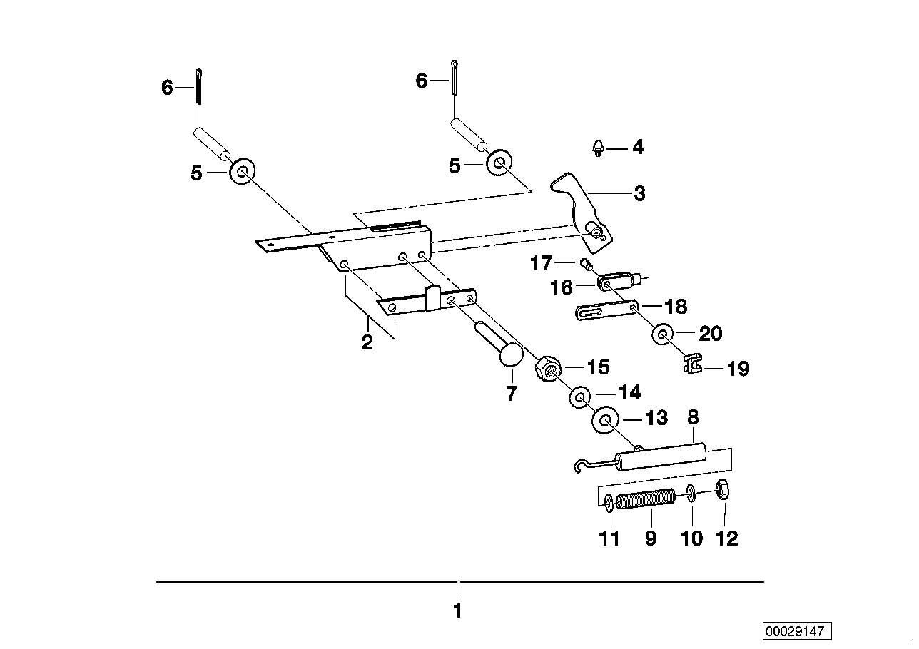 AM33 Trailer, indiv. parts, deflector housing 03_3774