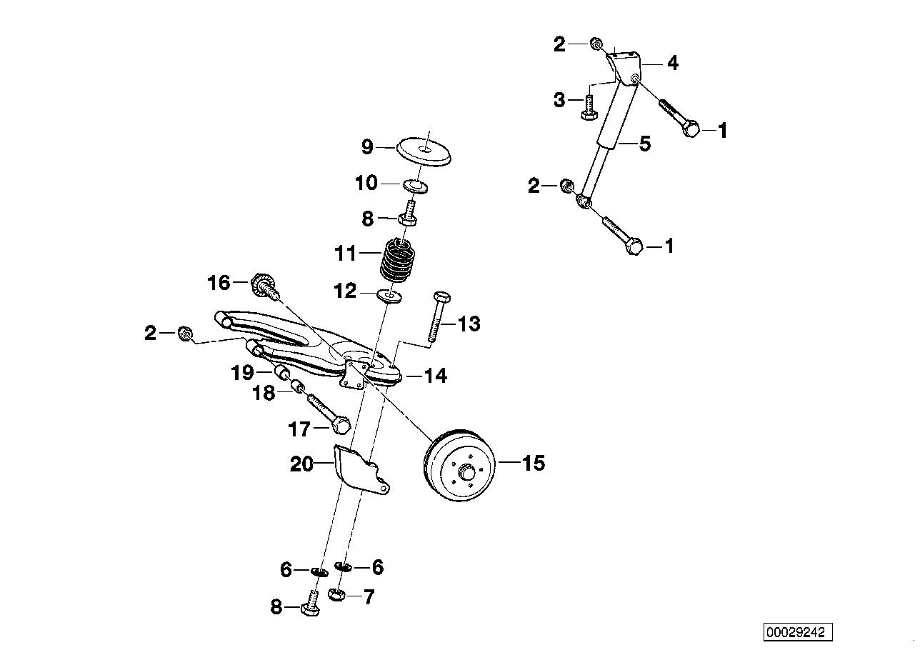 AM33 Trailer, indiv. parts, wheel suspension 03_3779