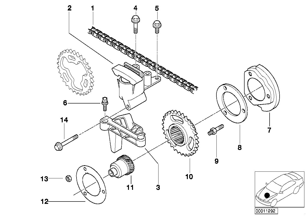AV13 Valve Train,timing Chain,upper/intake-11_2171