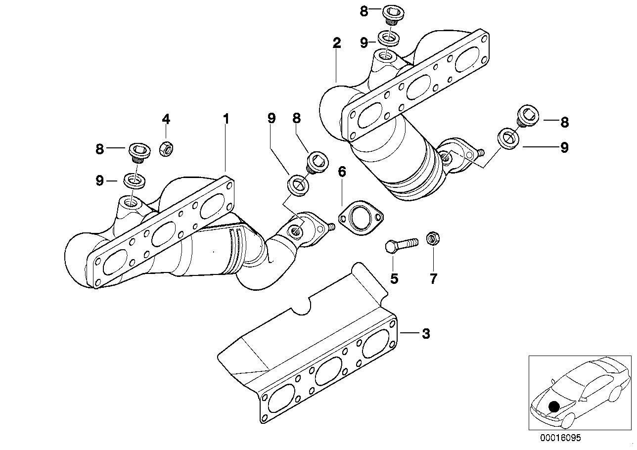 AV13 Exhaust Manifold With Catalyst-11_2183