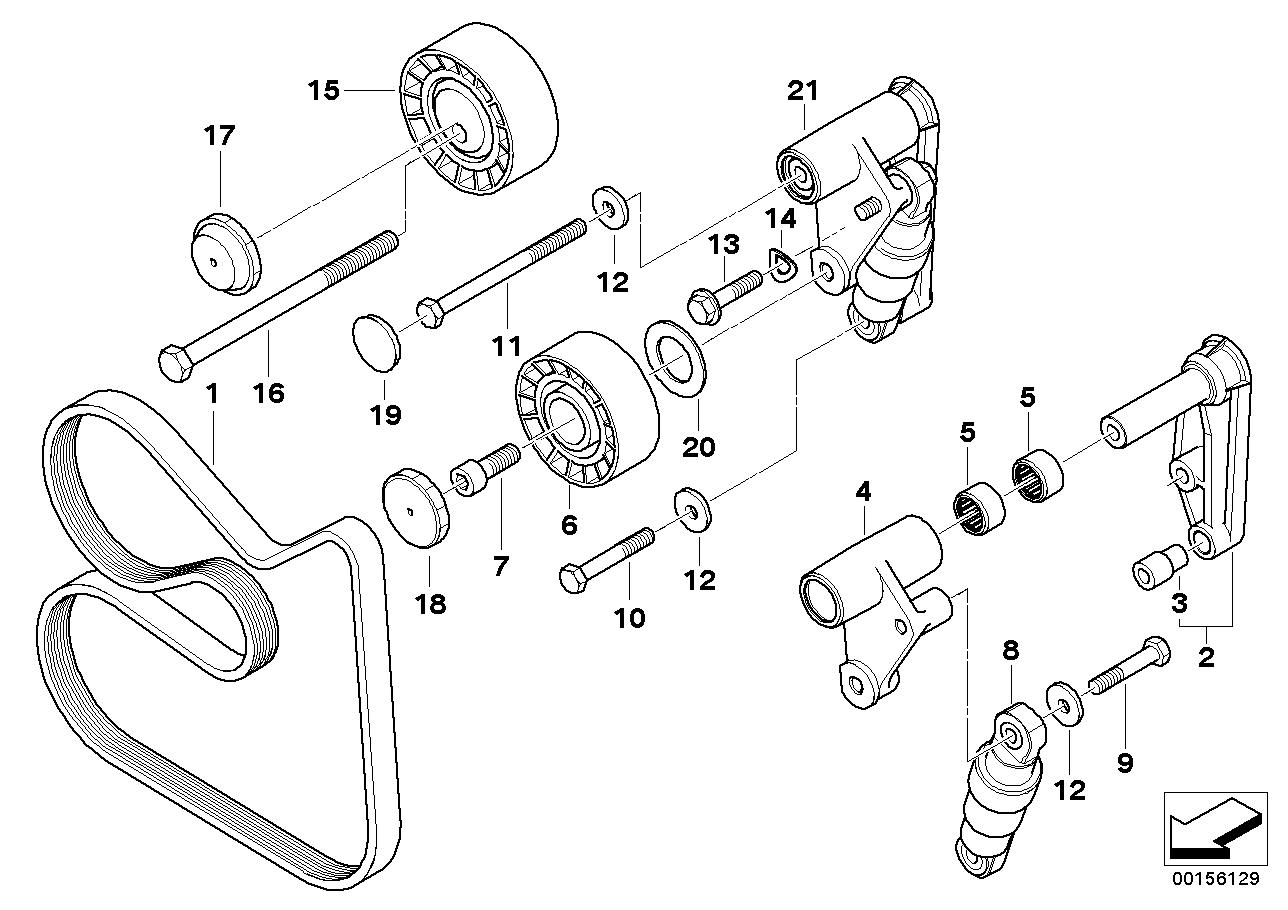 AM33 Belt Drive Water Pump/Alternator-11_2190