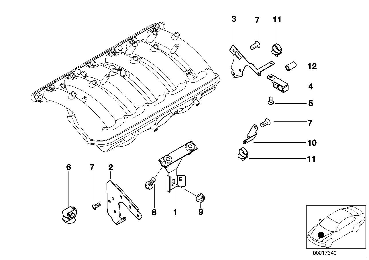 AM33 Mounting Parts F Intake Manifold System-11_2197