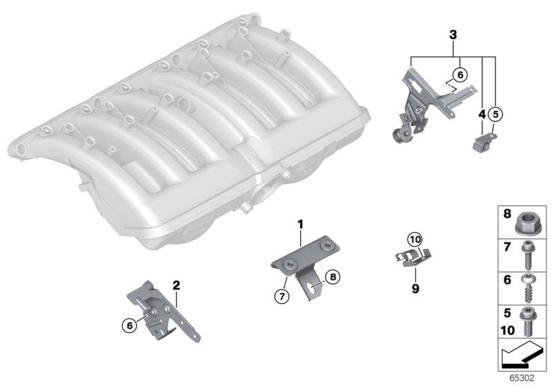 AV13 Mounting Parts F Intake Manifold System-11_2880