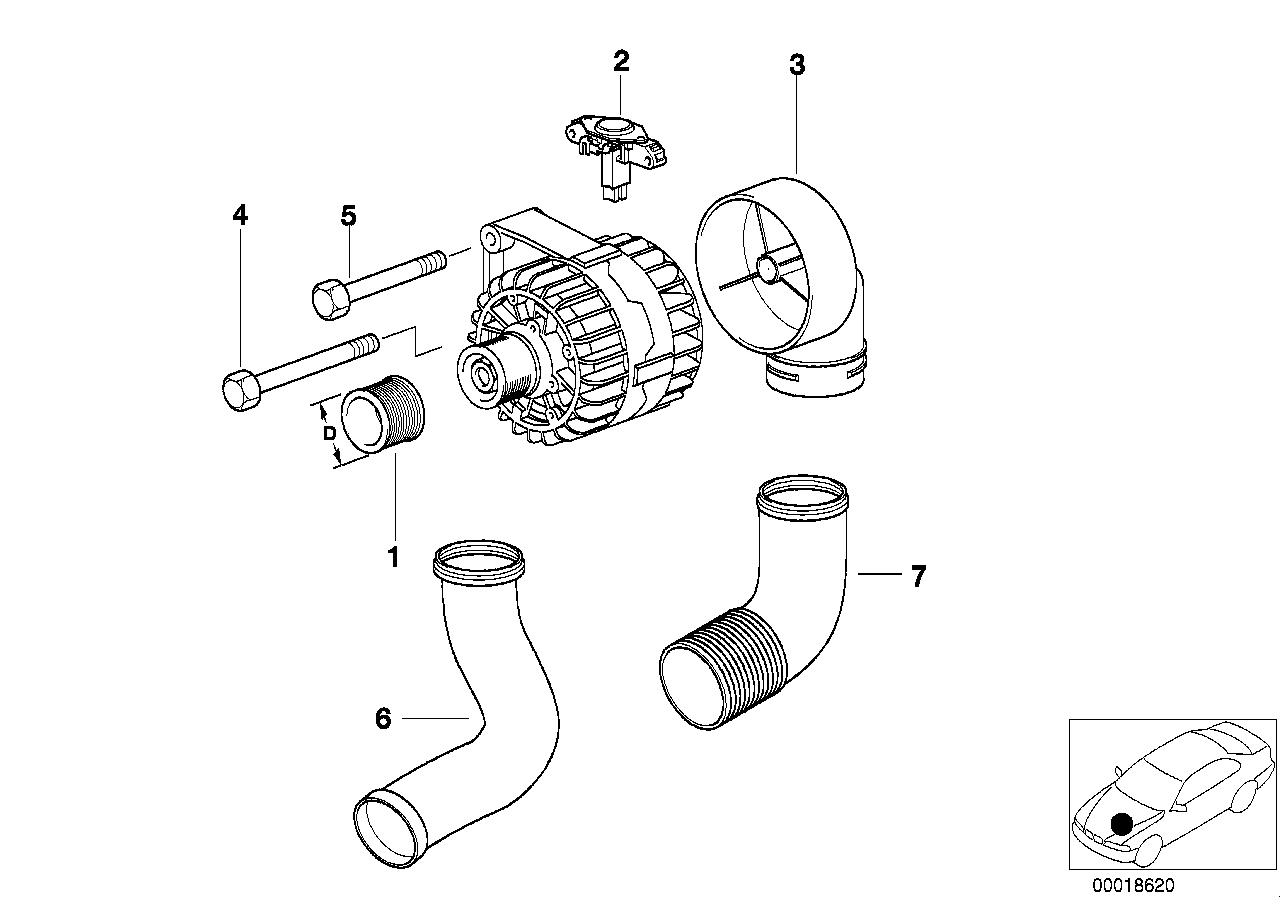 AM33 Generator Single Parts 120A Bosch-12_0910