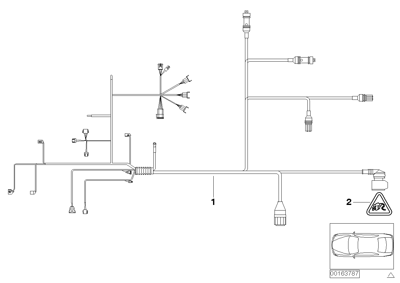 AV13 Wiring Harness, Engine Trans. Module-12_1095