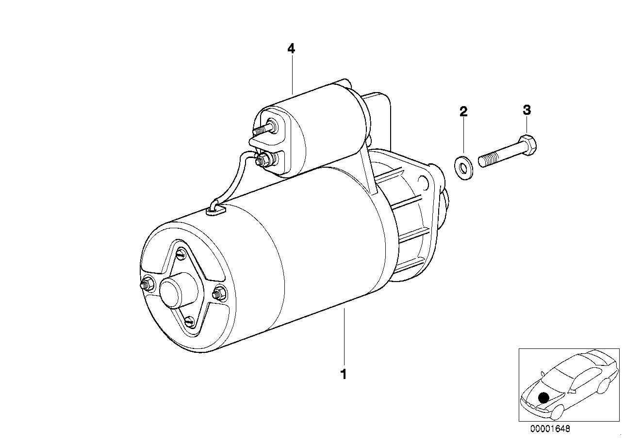 AM33 Motorino Di Avviamento - Ricambi Usati-12_2535