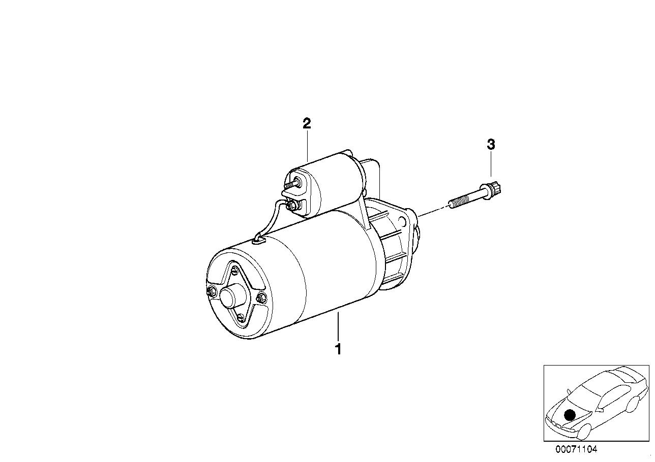 AV13 Motorino Di Avviamento - Ricambi Usati-12_2537