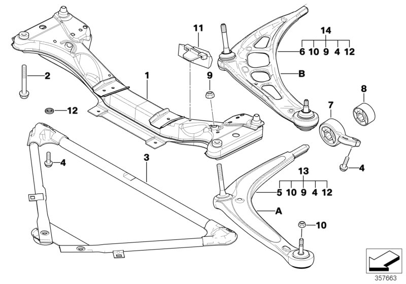 AM33 Front Axle Support/wishbone-31_0404