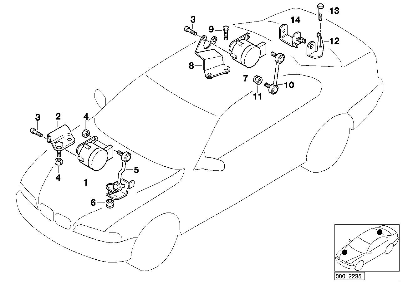 AM33 Headlight Vertical Aim Control Sensor-31_0409