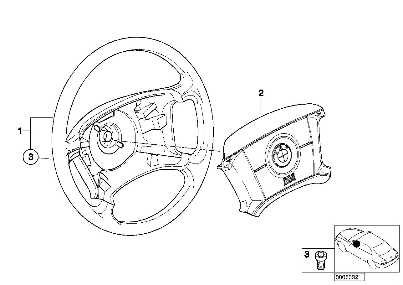 AM33 Steering wheel airbag 32_0945