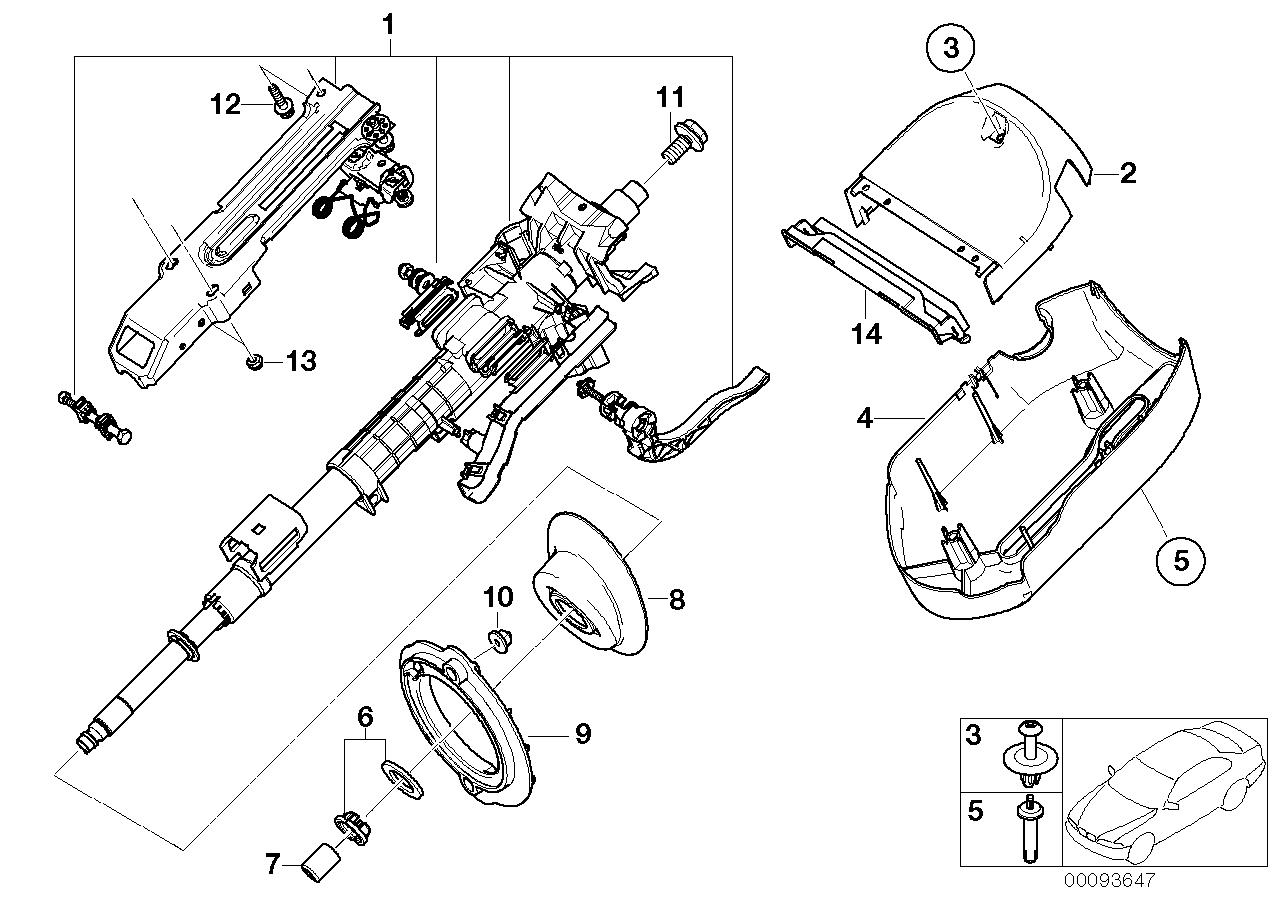 AM33 Manually adjust. steering column 32_0950
