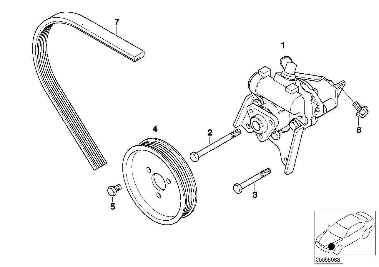 AM33 Power steering pump 32_0956
