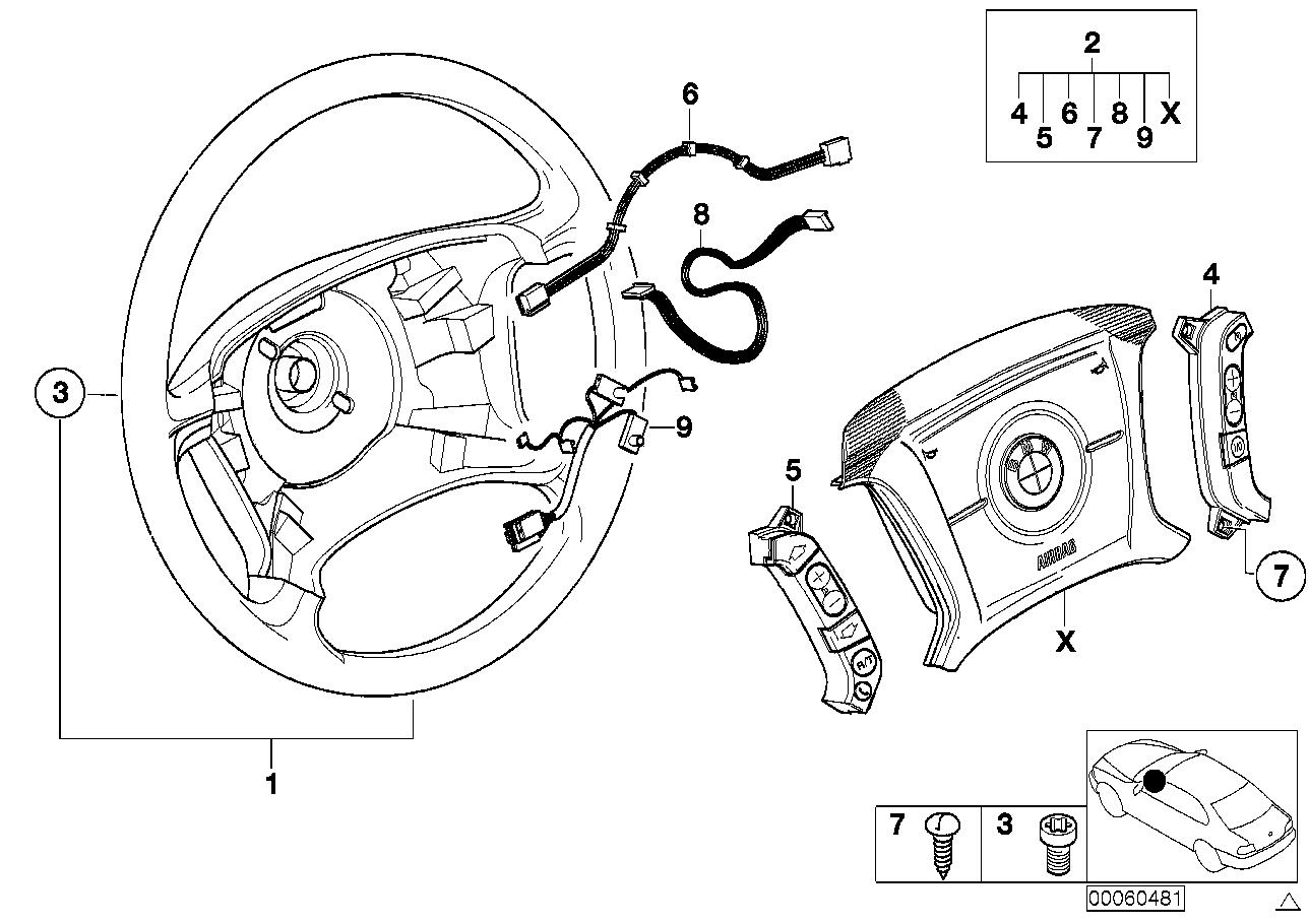 AM33 Steering wheel Airbag-Smart multifunct. 32_1201