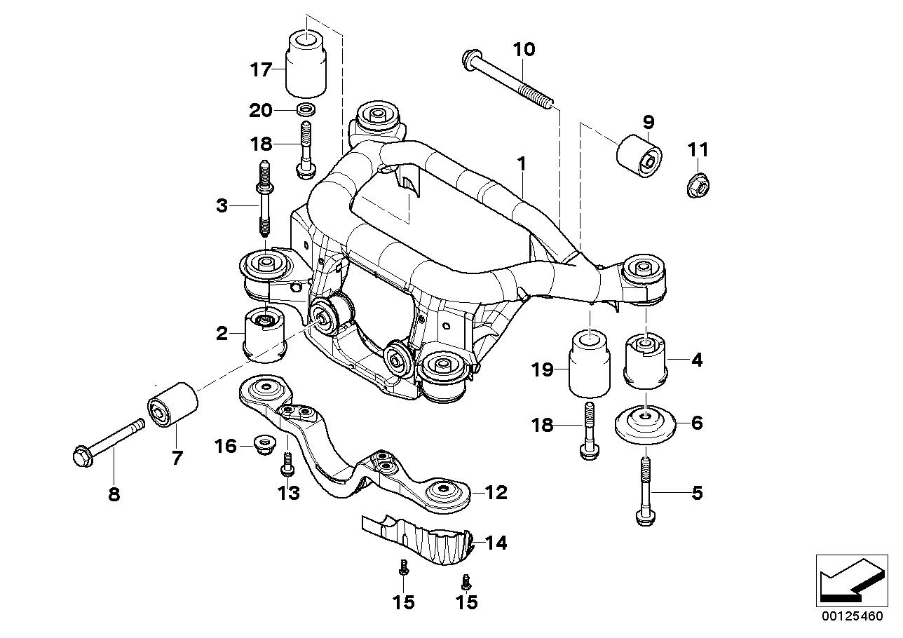 AM33 Rear axle carrier 33_0839