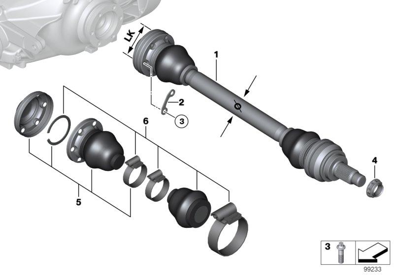 AM33 Output shaft 33_1189