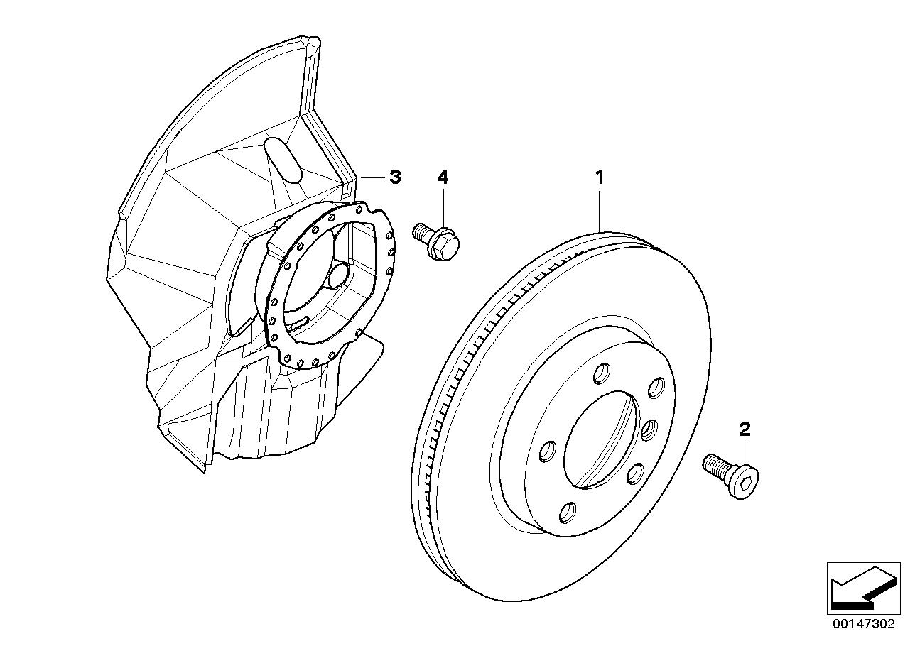 AM33 Front brake / brake disc 34_0758