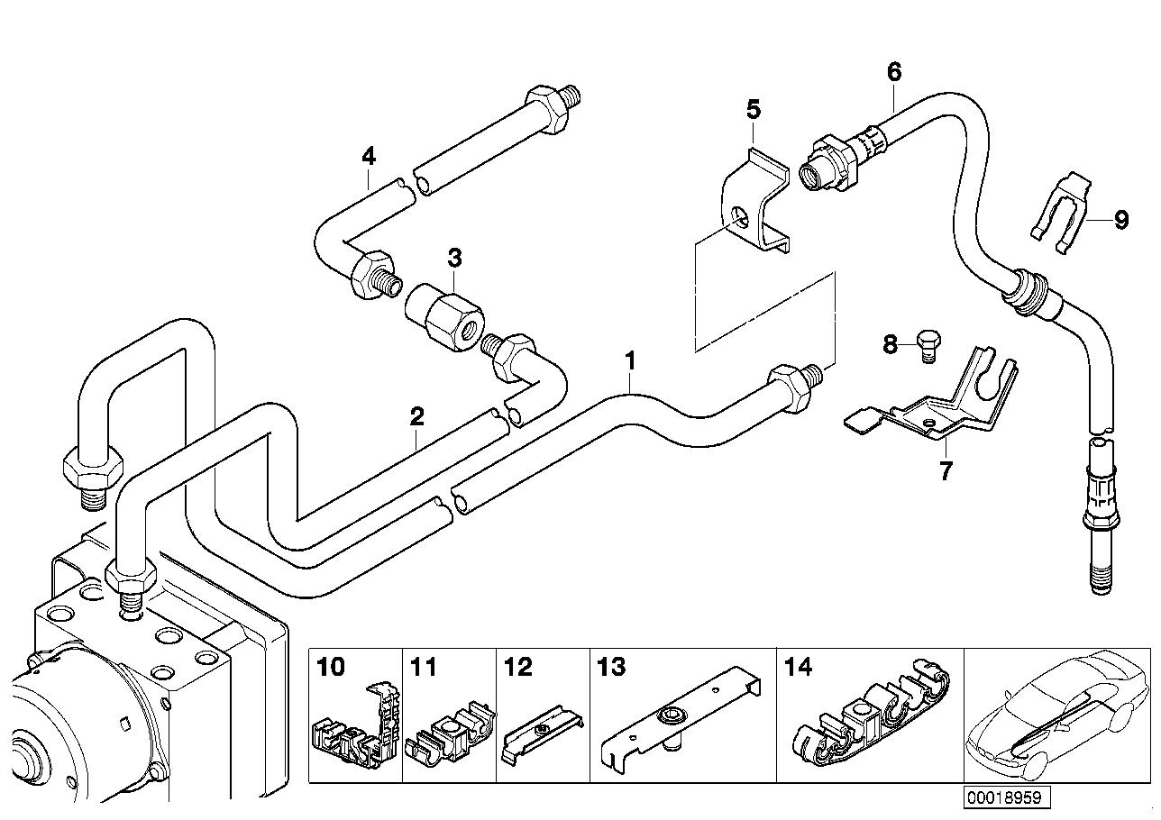 AM33 Brake pipe rear ABS/ASC+T 34_0762