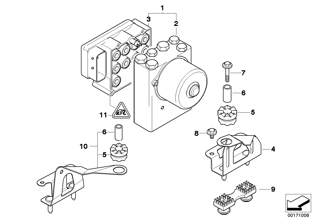AM33 ASC hydro unit/control unit/support 34_0763