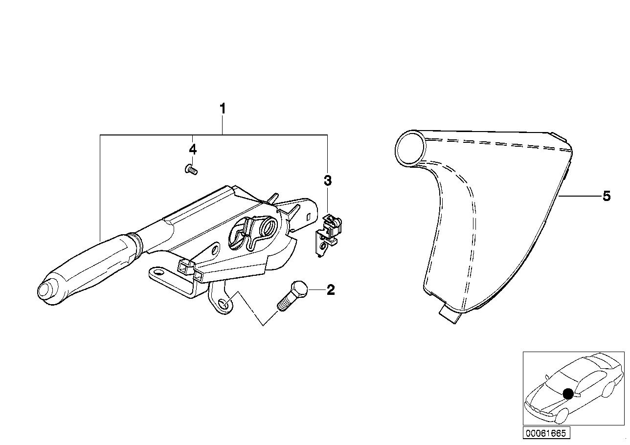 AM33 Handbrake lever 34_0767