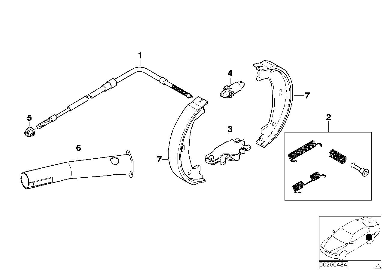 AM33 Parking brake/brake shoes 34_0768