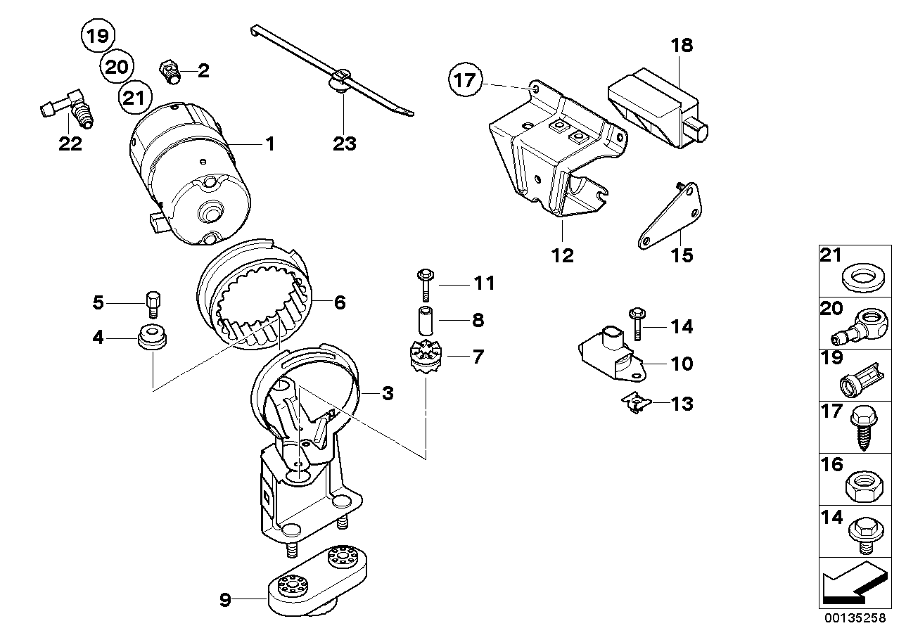 AM33 DSC compressor/senors/mounting parts 34_0865