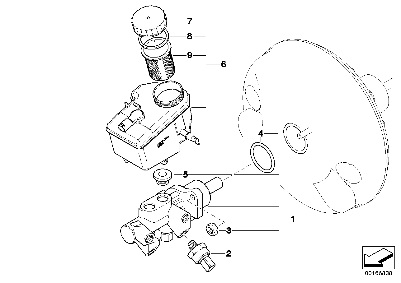 AM33 Brake master cylinder DSC 34_0918