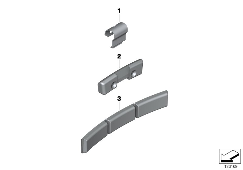 AM33 Balance weight, zinc 36_0866
