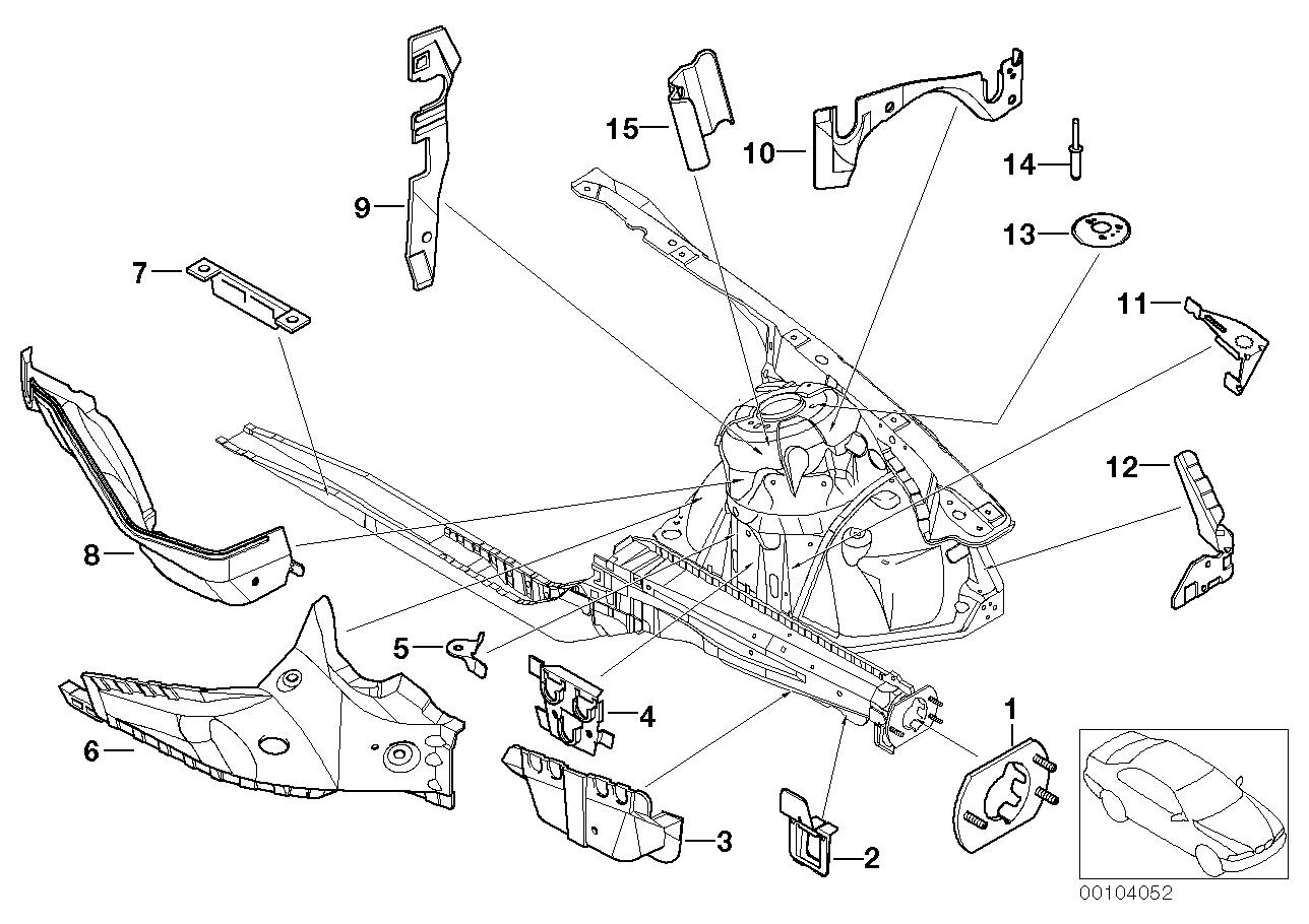 AM33 Front body bracket left 41_1091