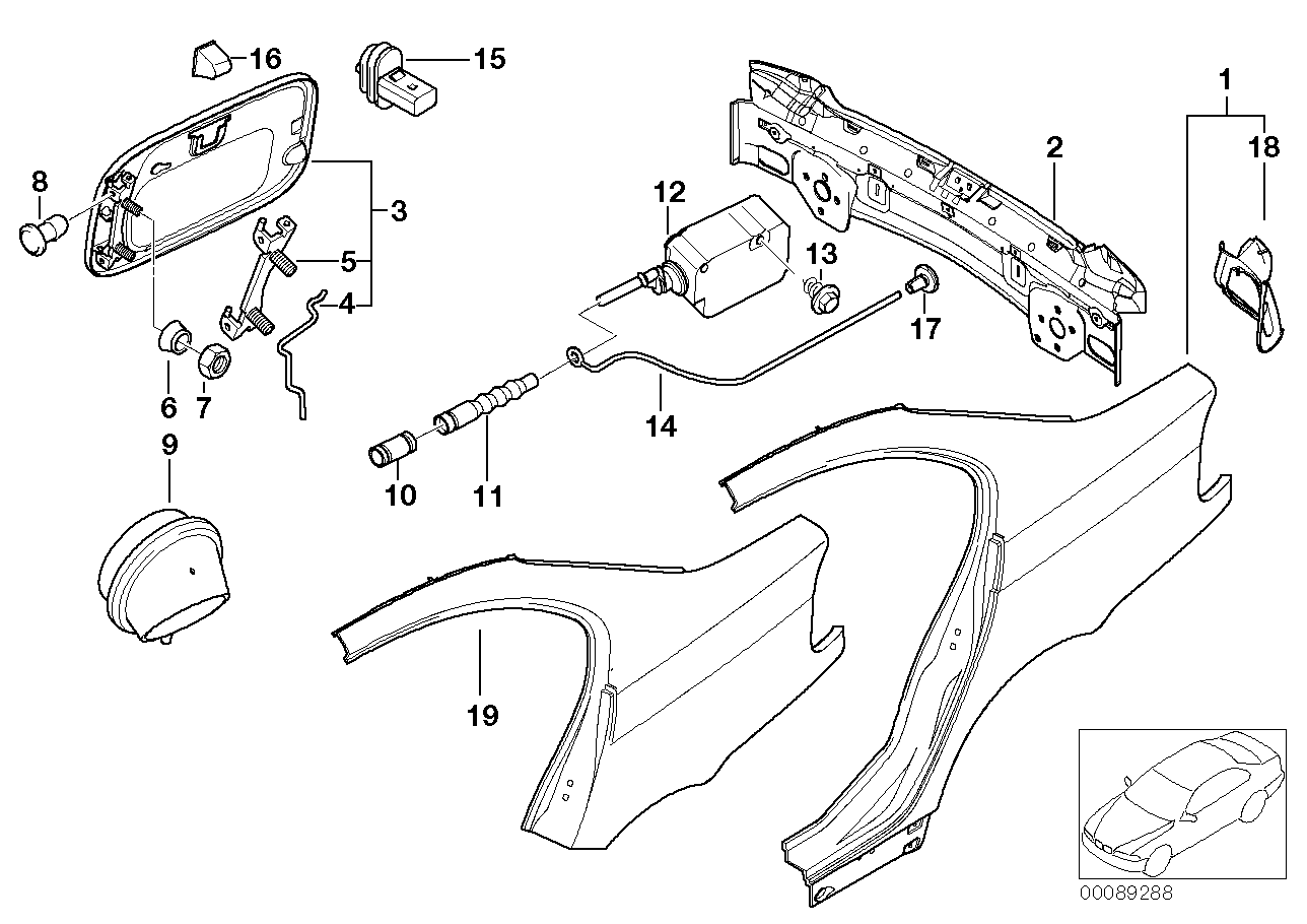 AM33 Side panel/tail trim 41_1104
