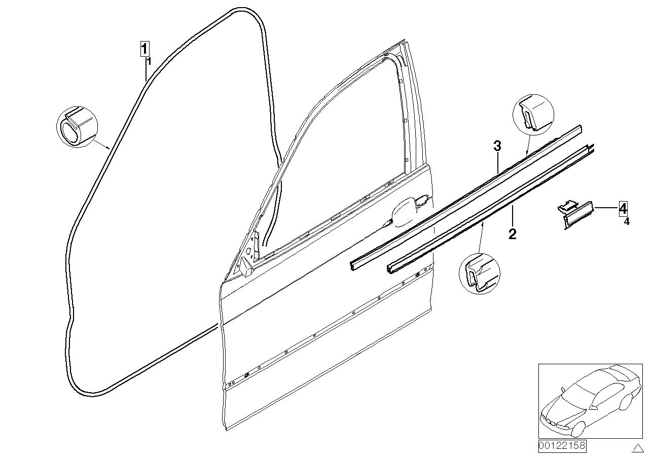 AM33 Door weatherstrip front 41_1109