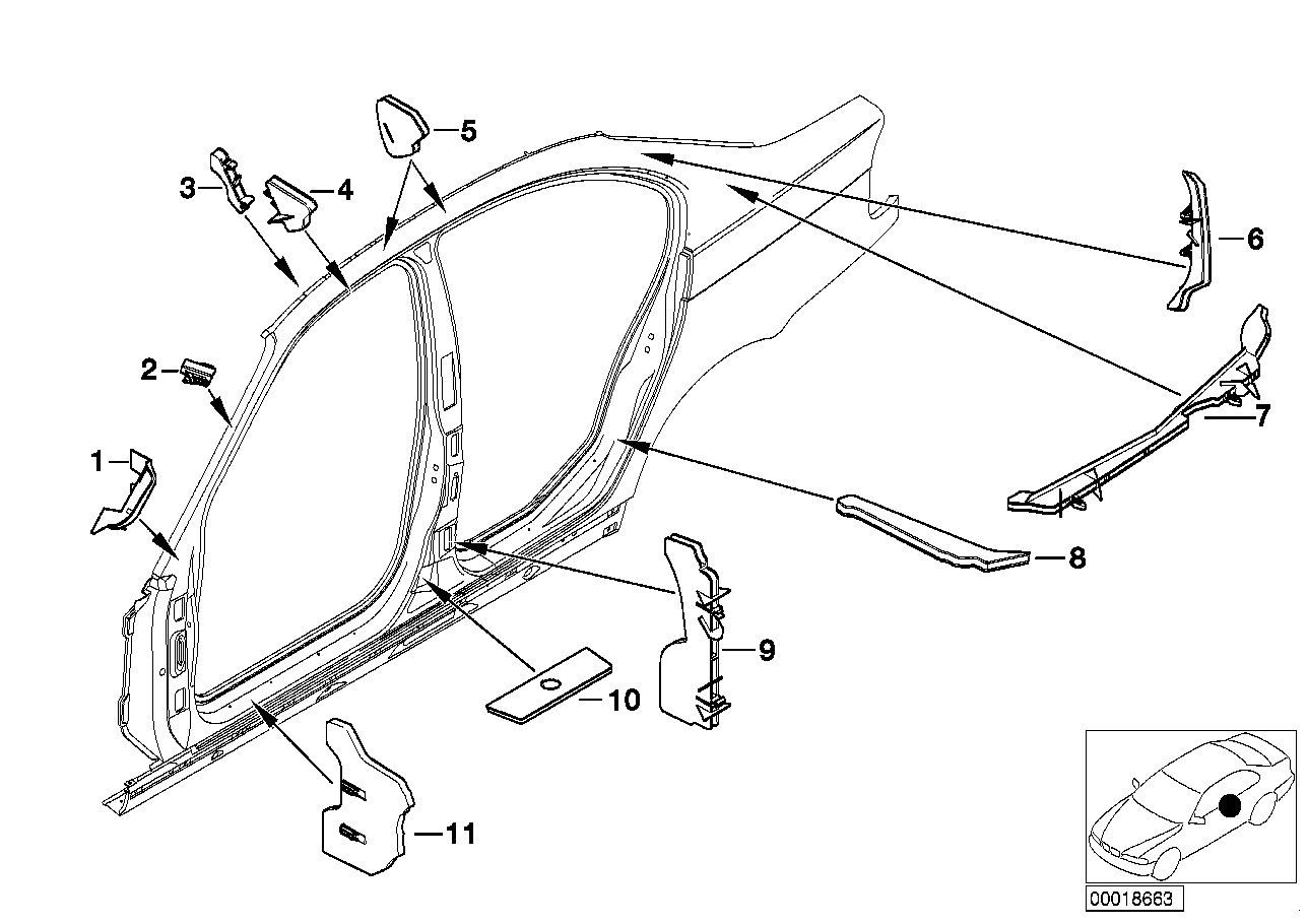 AM33 Cavity shielding, side frame 41_1142