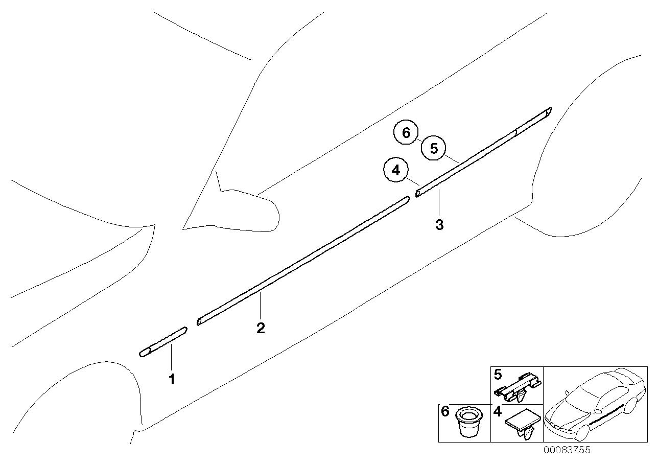 AM33 Exterior trim / grill 51_3265