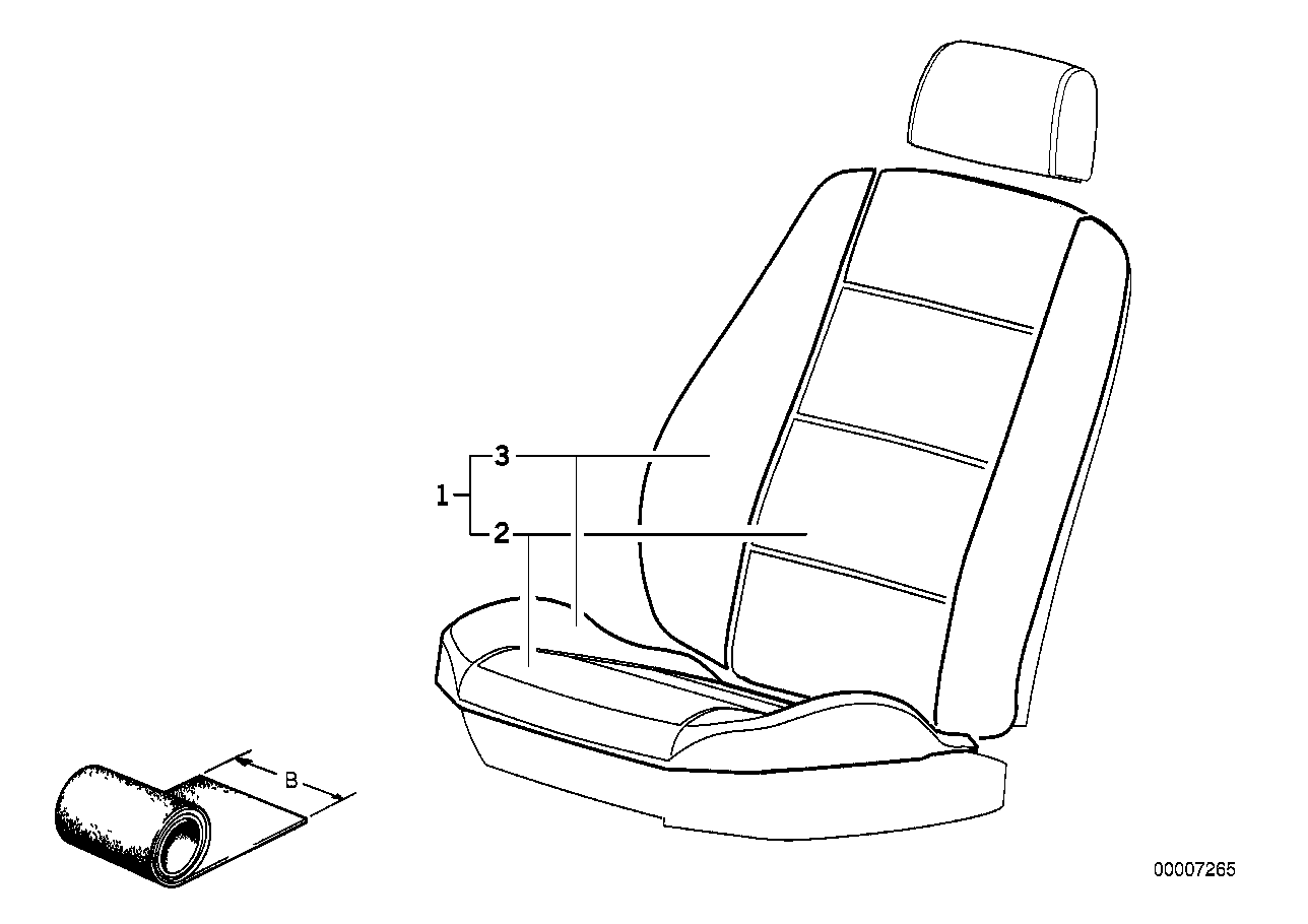 AM33 Cover material, running meter 52_2543