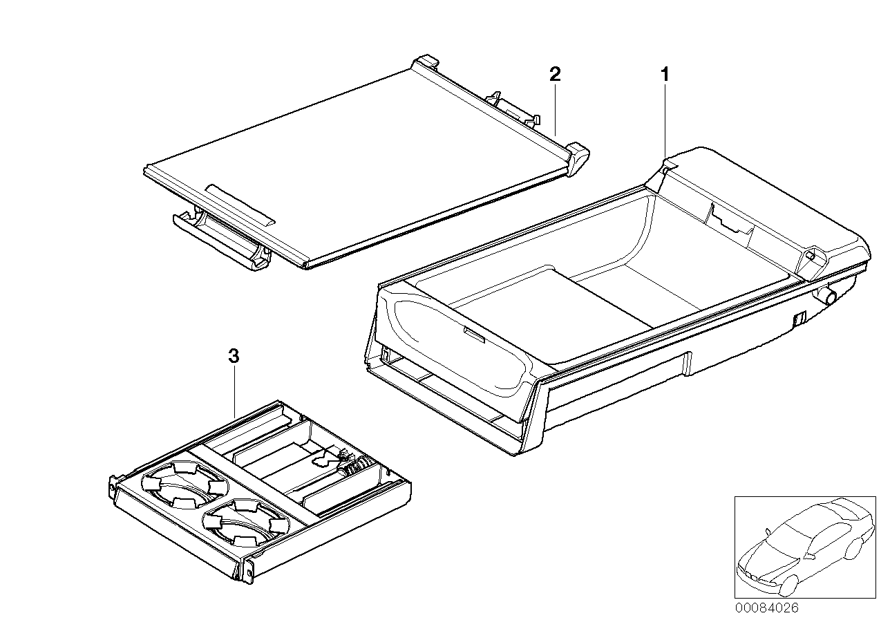 AM33 Seat rear, center armrest, multifunction 52_2842