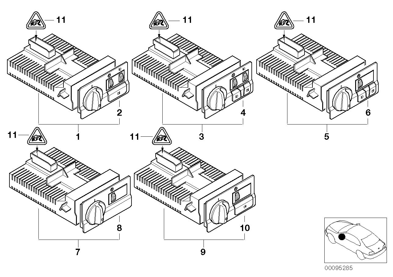 AM33 Switch unit, light 61_1060