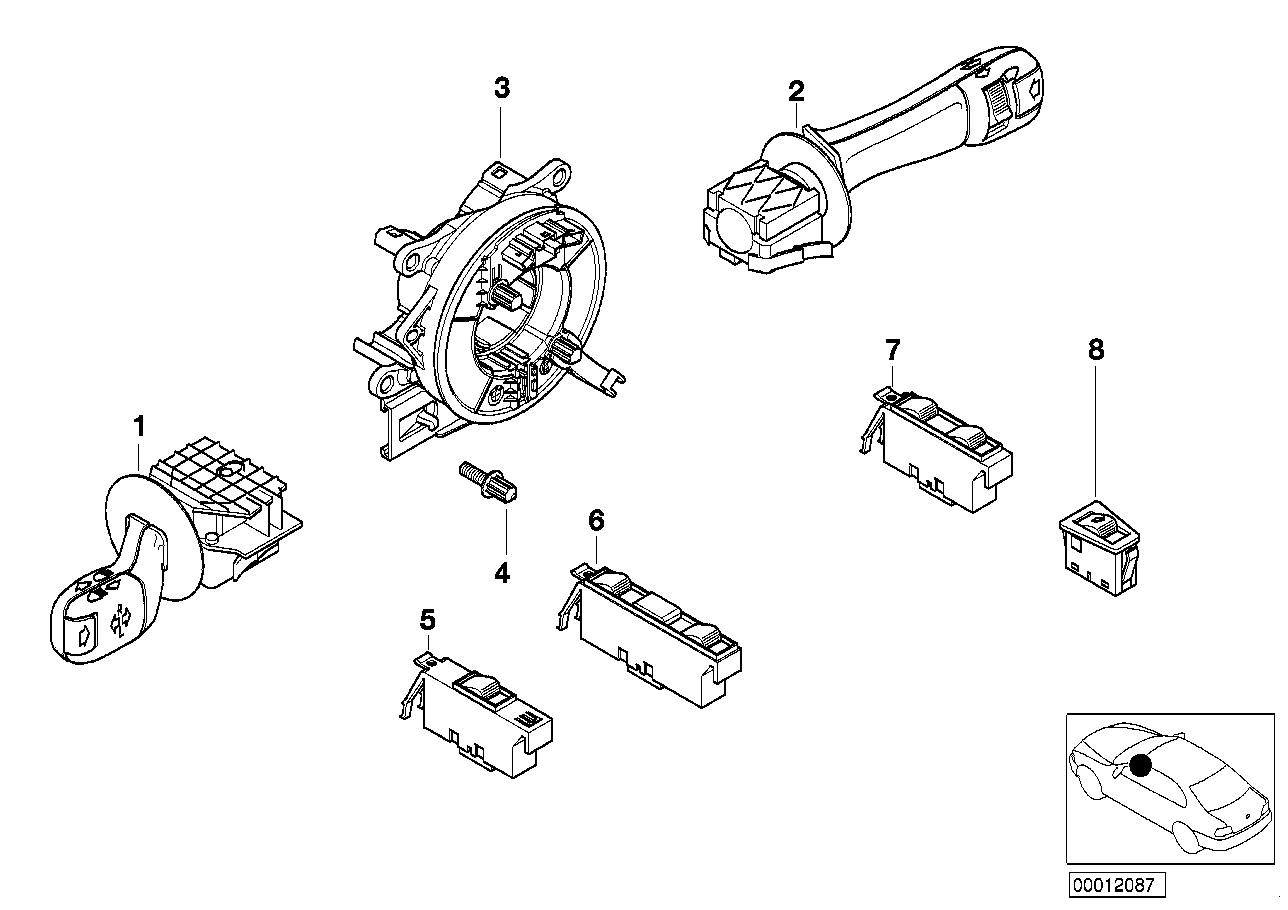 AM33 steering-column stalk/ window lifter 61_1061
