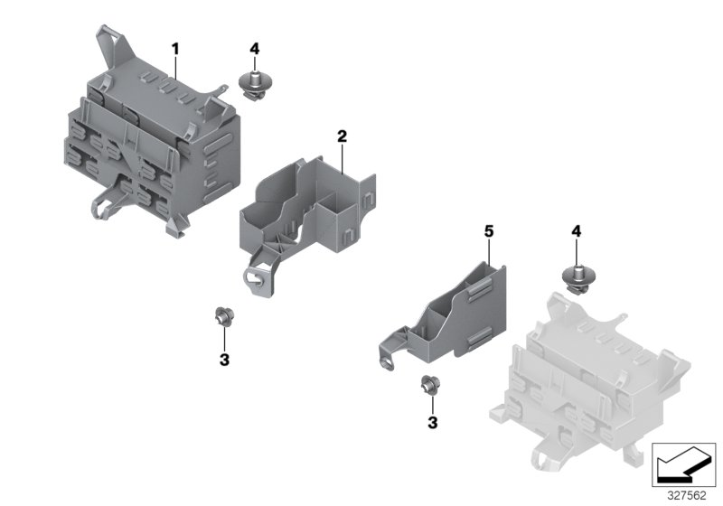 AM33 Bracket f body control units and modules 61_1091