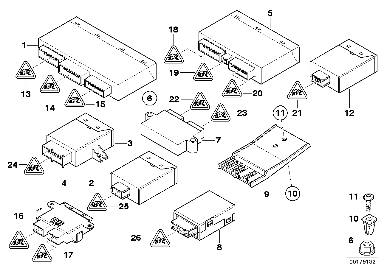 AM33 Body control units and moduls 61_2123