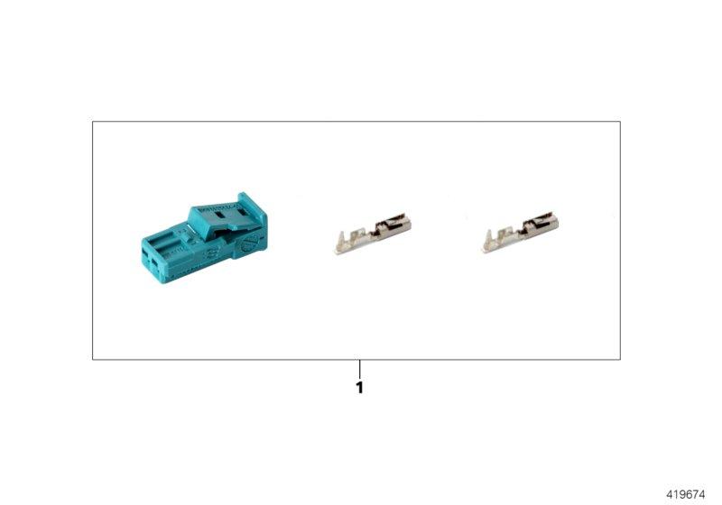 AM33 Repair kit for socket housing, 2-pin 61_4723