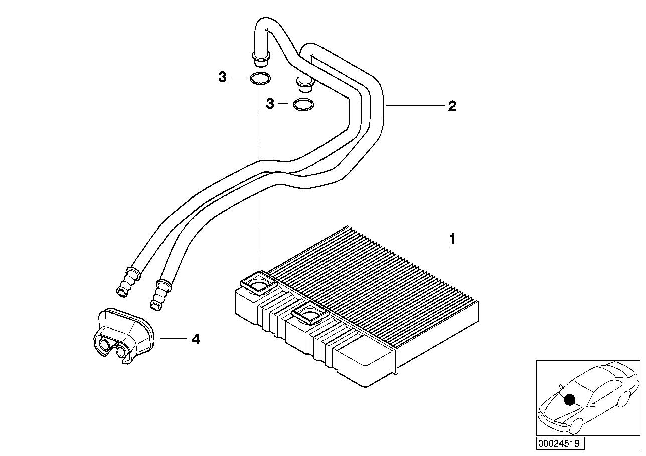 AM33 Heater radiator air conditioning 64_0818
